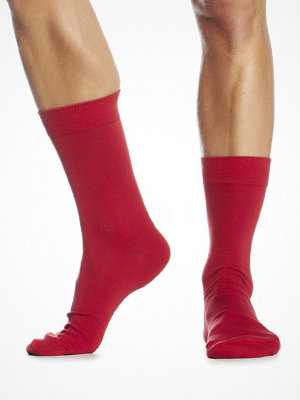 Topeco Plain Sock Red