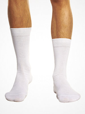 Topeco Plain Sock White
