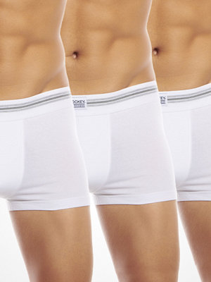 Jockey 3-pack Cotton Stretch Short Trunk White