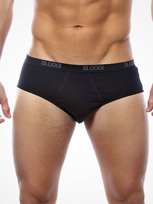 Sloggi Men Basic Midi Brief Black