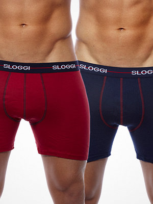 Sloggi 2-pack Start Boxer Navy/Red