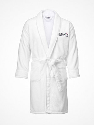 Morgonrockar - Newport Jamesport Bathrobe White