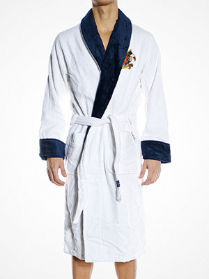 Newport Yacht Club Bathrobe White