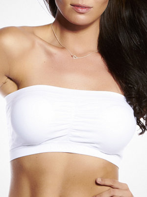 Magic Bandeau Push-Up Bra White