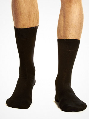 Topeco Plain Sock Black