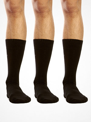 Calvin Klein 3-pack Cotton Sock Black