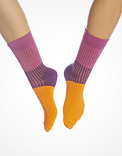 Strumpor - Happy Socks Ribbed Block Sock Orange
