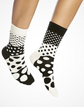 Strumpor - Happy Socks Divided Dots Sock Black