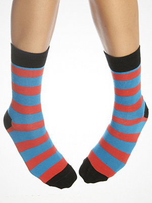 Strumpor - Happy Socks Stripe Sock Red/Blue