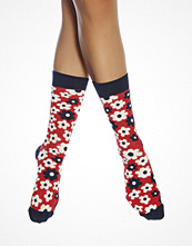 Strumpor - Happy Socks Flower Sock Red