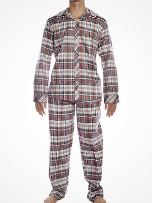 Jockey Woven Pyjamas Set Red