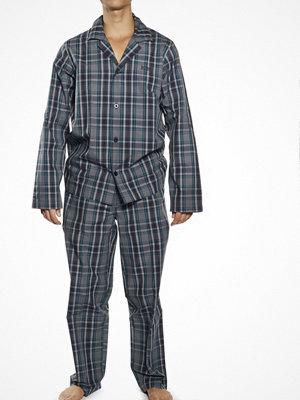 Hugo Boss Gift Box Pyjamas Check Open Blue