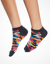 Strumpor - Happy Socks Camo Low Sock Dark Grey