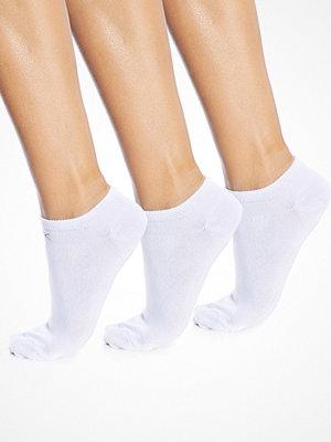 Strumpor - Calvin Klein 3-pack Cotton Low Sock White