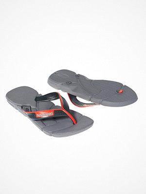 Tofflor - Havaianas Cinza Aco Flip Flop Steel Grey