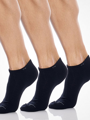 Calvin Klein 3-pack Cotton Low Sock Black