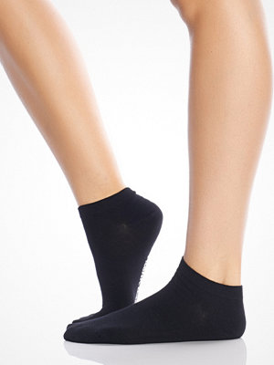 Strumpor - Frank Dandy Women's Bamboo Low Sock Solid Black