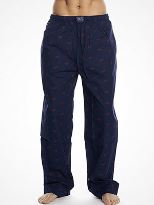 Polo Ralph Lauren Pyjamas Pant Champagne Print Navy