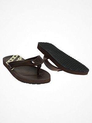 Tofflor - Catmandoo Bred FlipFlops Brown