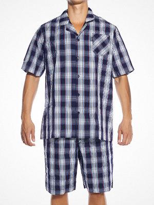 Jockey Short Pyjama Woven Stonewash Navy