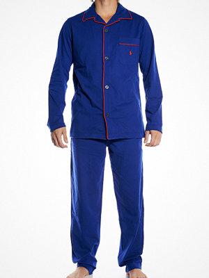 Polo Ralph Lauren Pyjama Set Long Sporting Royal Danger Red