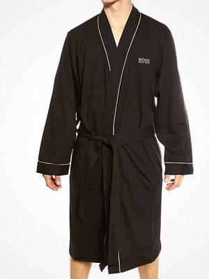 Morgonrockar - Hugo Boss Kimono Robe Black