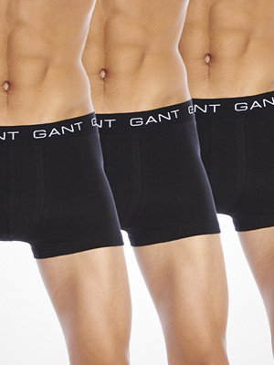 Gant 3-pack Trunk Black