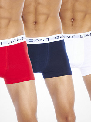 Gant 3-pack Trunk Navy White Red