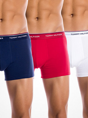 Tommy Hilfiger 3-pack Premium Boxer White Red Navy