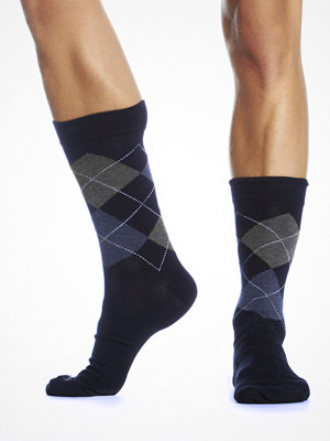 Topeco Argyle Sock Navy