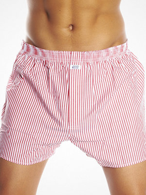 Jockey Woven Stripe Boxer Red Big