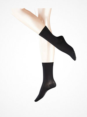 Strumpor - Falke Women Cotton Touch Black