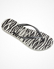 Tofflor - Havaianas Slim Animal Zebra