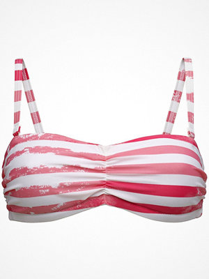 Salming Cameron Padded Bandeau Bra  Pink