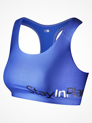 Stay In Place Active Sports Bra C-D Blue