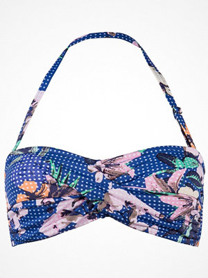 Sunseeker Exotic Floral Bandeau B-D Cup Navy pattern