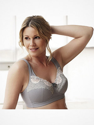Swegmark Faithful Fairtrade Soft Bra Grey Grey