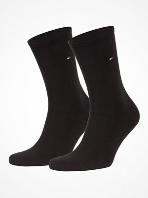Tommy Hilfiger 2-pack Women Classic Casual Socks  Black