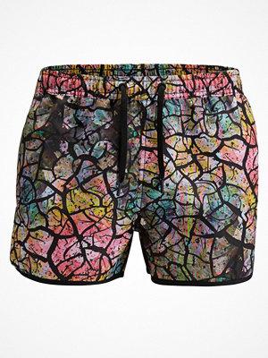 Badkläder - Björn Borg Short Swim Shorts Drylands Black pattern-2