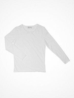 Bread and Boxers Long Sleeve Relaxed  White
