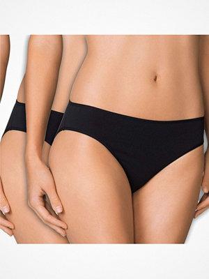 Calida 2-pack Benefit Women Brief Black