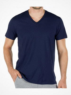 Calida Remix Basic V-shirt Darkblue
