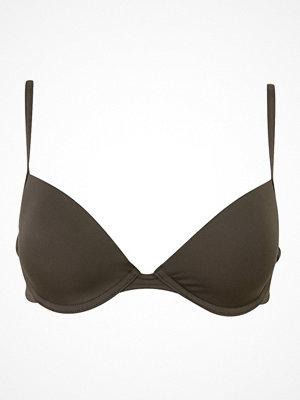Calvin Klein Core Solids Lift Plunge Bikini Olive