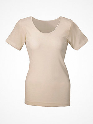 Damella Wool And Silk T-Shirt  Vanilla