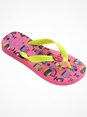 Tofflor - Havaianas Kids Fantasy Pink/Yellow