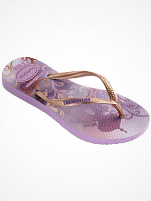 Tofflor - Havaianas Kids Slim Princess Lilac