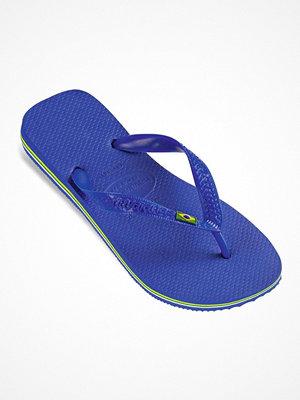 Tofflor - Havaianas Brasil Logo Blue