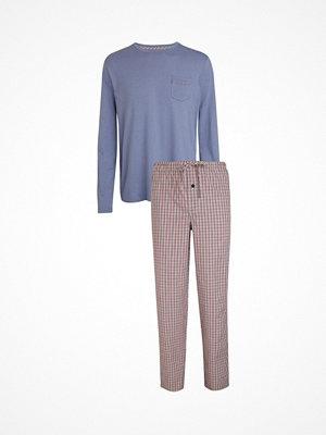 Jockey Pyjama Mix Lt blue Check