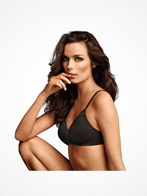 Maidenform Comfort Devotion Wirefree Bra with Lace Black