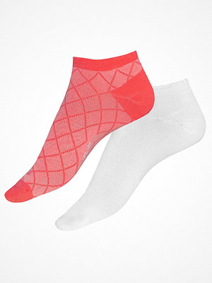 Strumpor - Röhnisch 2-pack Short Sock Pink/White